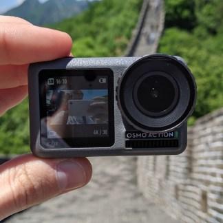 Test DJI Osmo Action: utilisation simultanée et simultanée de GoPro