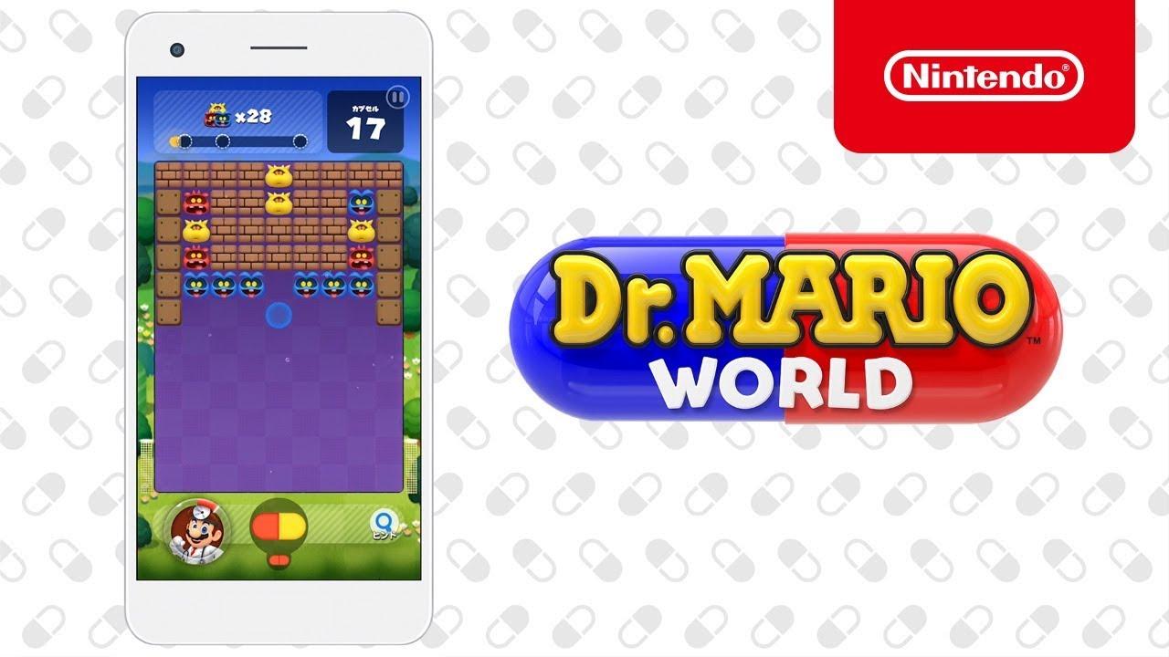 Dr. Mario World est disponible sur Android et iOS
