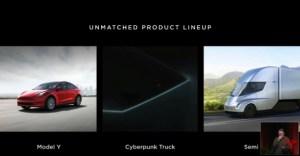 Tesla Model Y, pick-up et Semi : Elon Musk fait un point sur leur calendrier respectif