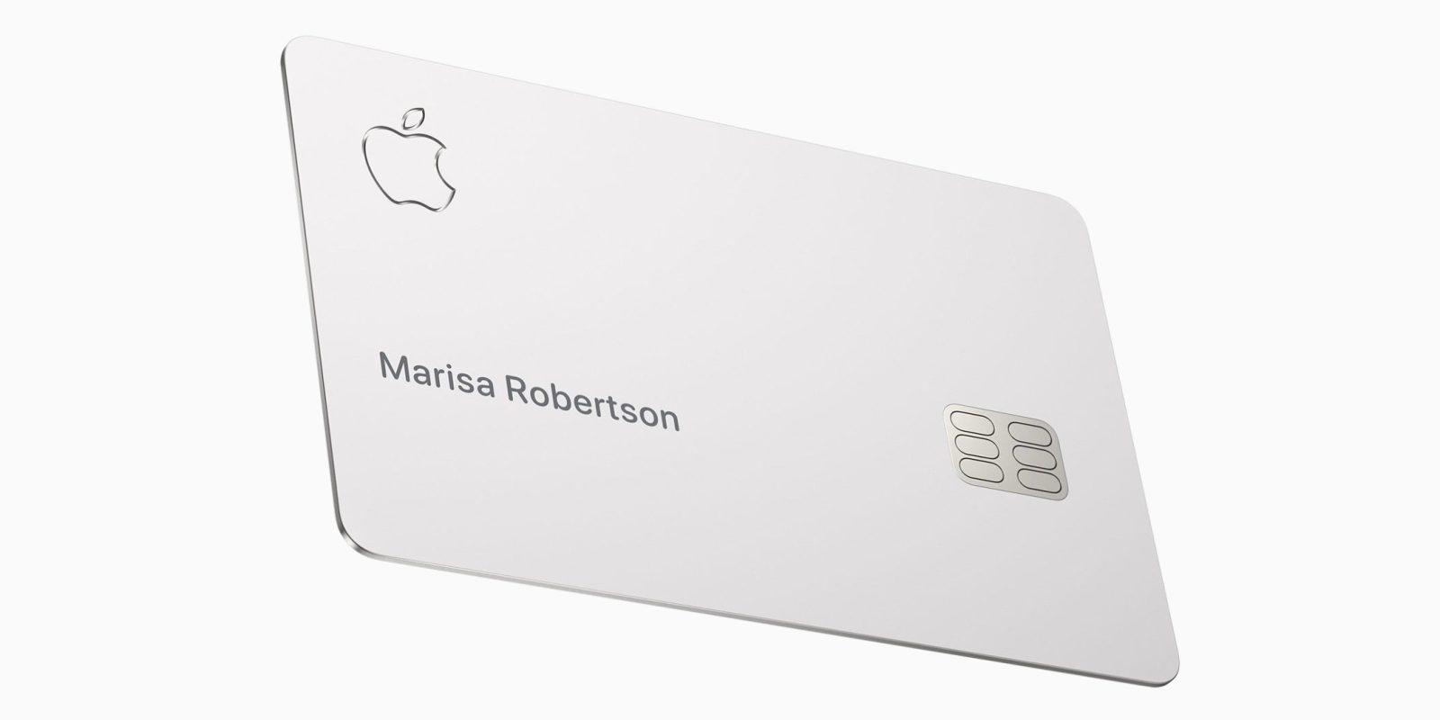 Apple Card : la carte bancaire d'Apple sortira au mois d'août