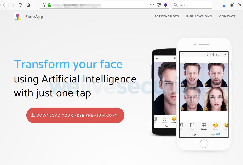 FaceApp Pro : attention à l'arnaque à la fausse application