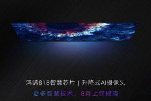 Honor Smart Screen : un écran 55 pouces et une caméra pop-up pour une annonce le 10 août