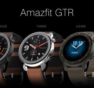 Huami Amazfit GTR (Xiaomi) officialisée : 24 jours d'autonomie, cadre en titane et écran AMOLED