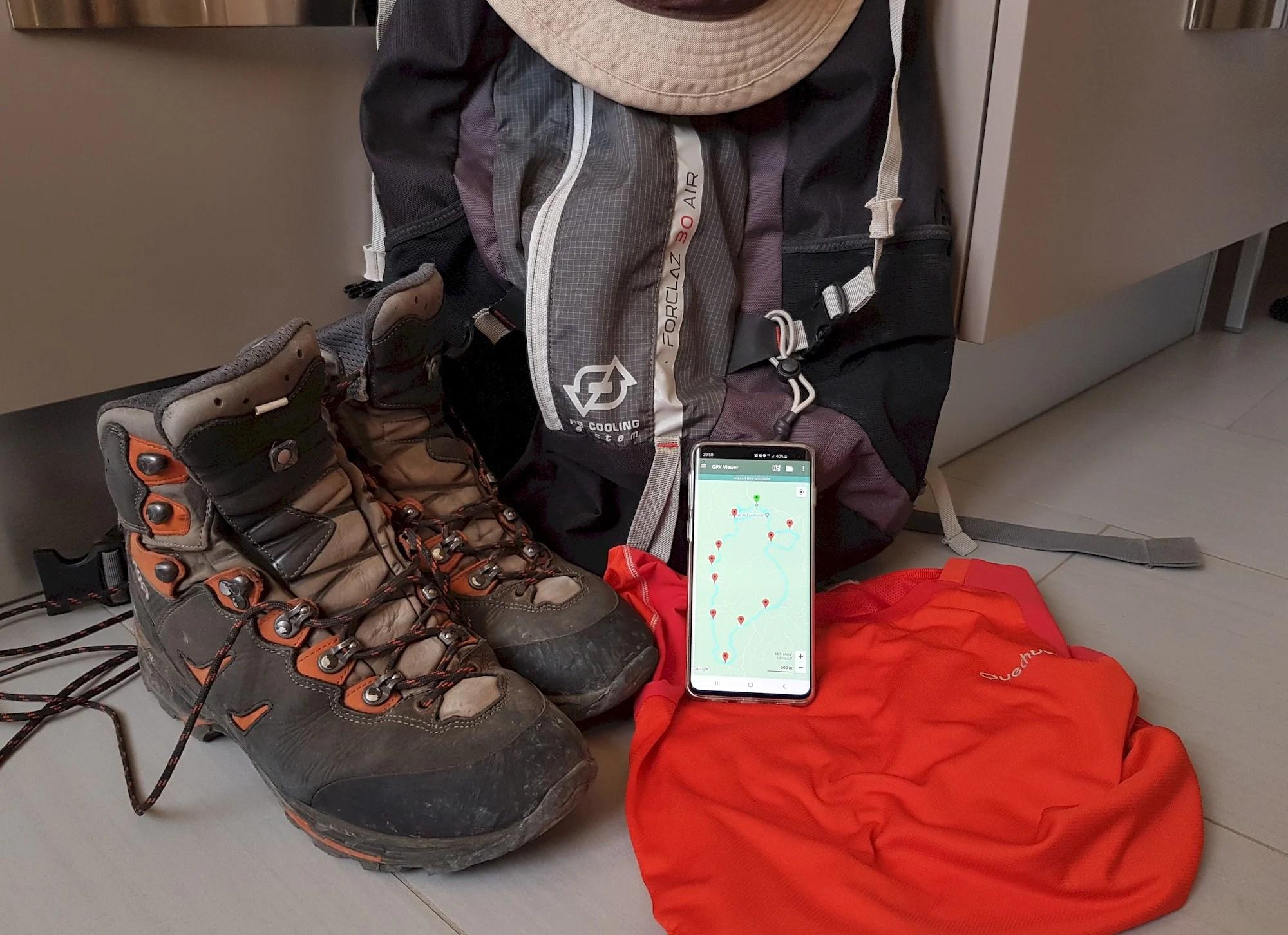 L'app de la semaine : je n'ai plus besoin de carte papier pour partir en rando