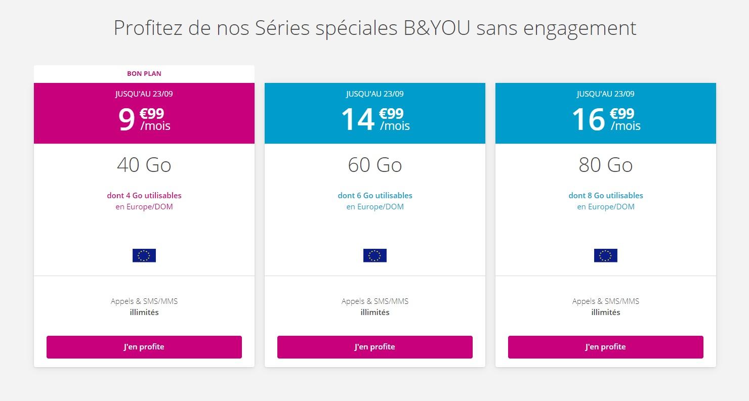 Forfait mobile : Bouygues Telecom prolonge toutes ses offres sans engagement