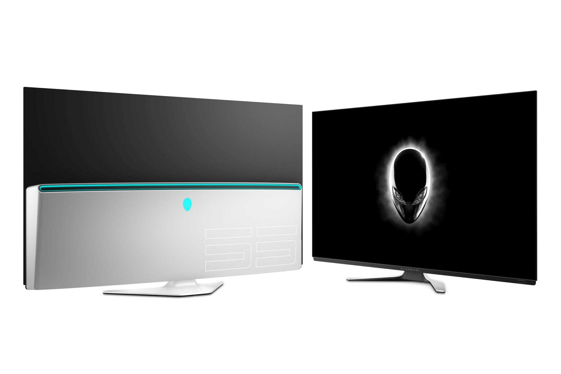Alienware présente son moniteur Alienware 55 OLED : trop grand pour jouer sur PC ?