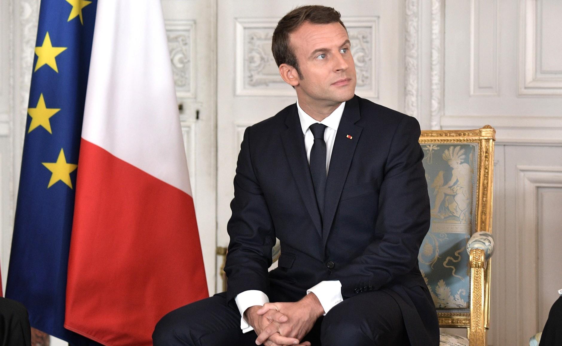 « Taxe GAFA » : Macron reste ferme avant l'ouverture du G7