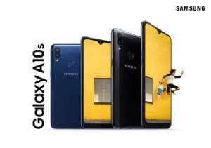 Samsung officialise le Galaxy A10s : capteur d'empreintes et batterie 4 000 mAh