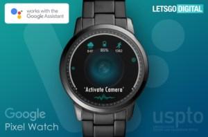 Google rêverait d'une smartwatch avec une caméra sous l'écran