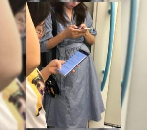 Huawei Mate 30 : l'écran du smartphone apparaît en photo