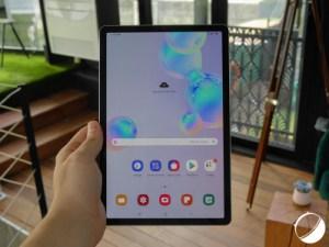 Samsung Galaxy Tab S6 : notre prise en main de la nouvelle tablette premium