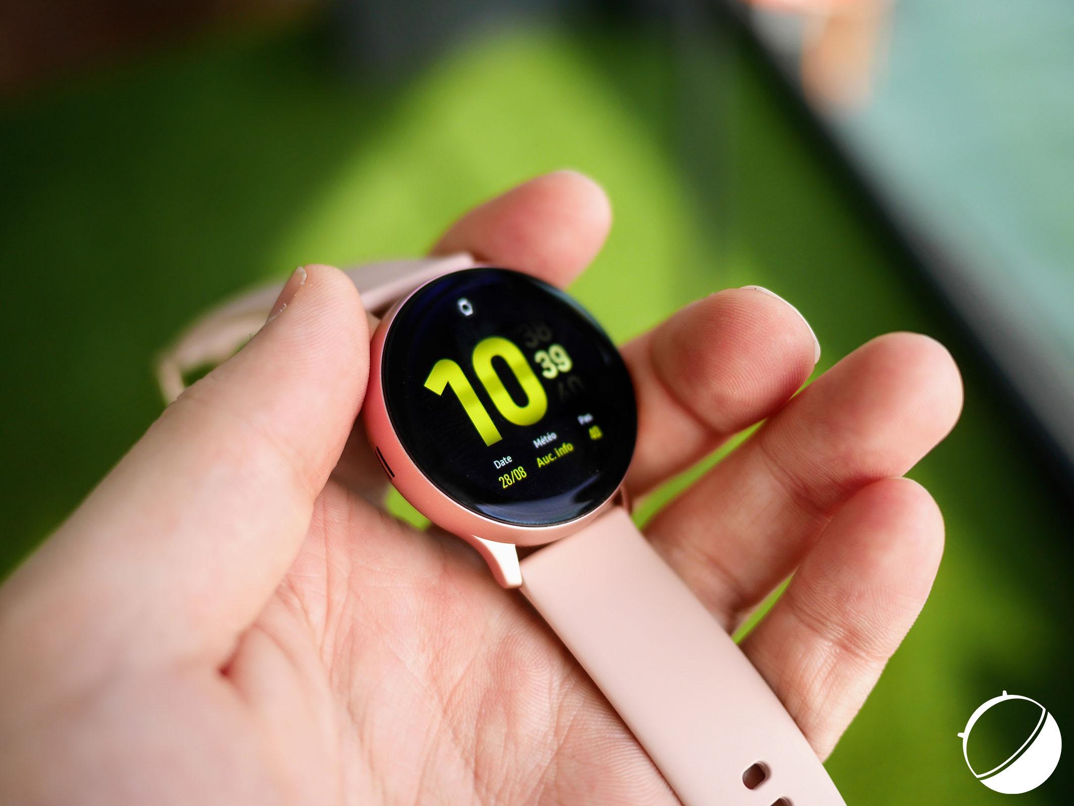 Samsung Galaxy Watch Active 2 : notre prise en main de la nouvelle montre