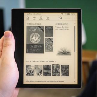 Test de l'Amazon Kindle Oasis 2019 : vent de fraicheur sur les liseuses
