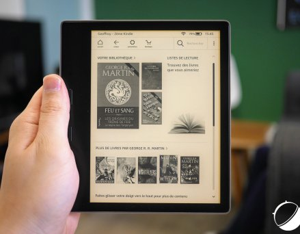 Test de l'Amazon Kindle Oasis 2019 : vent de...