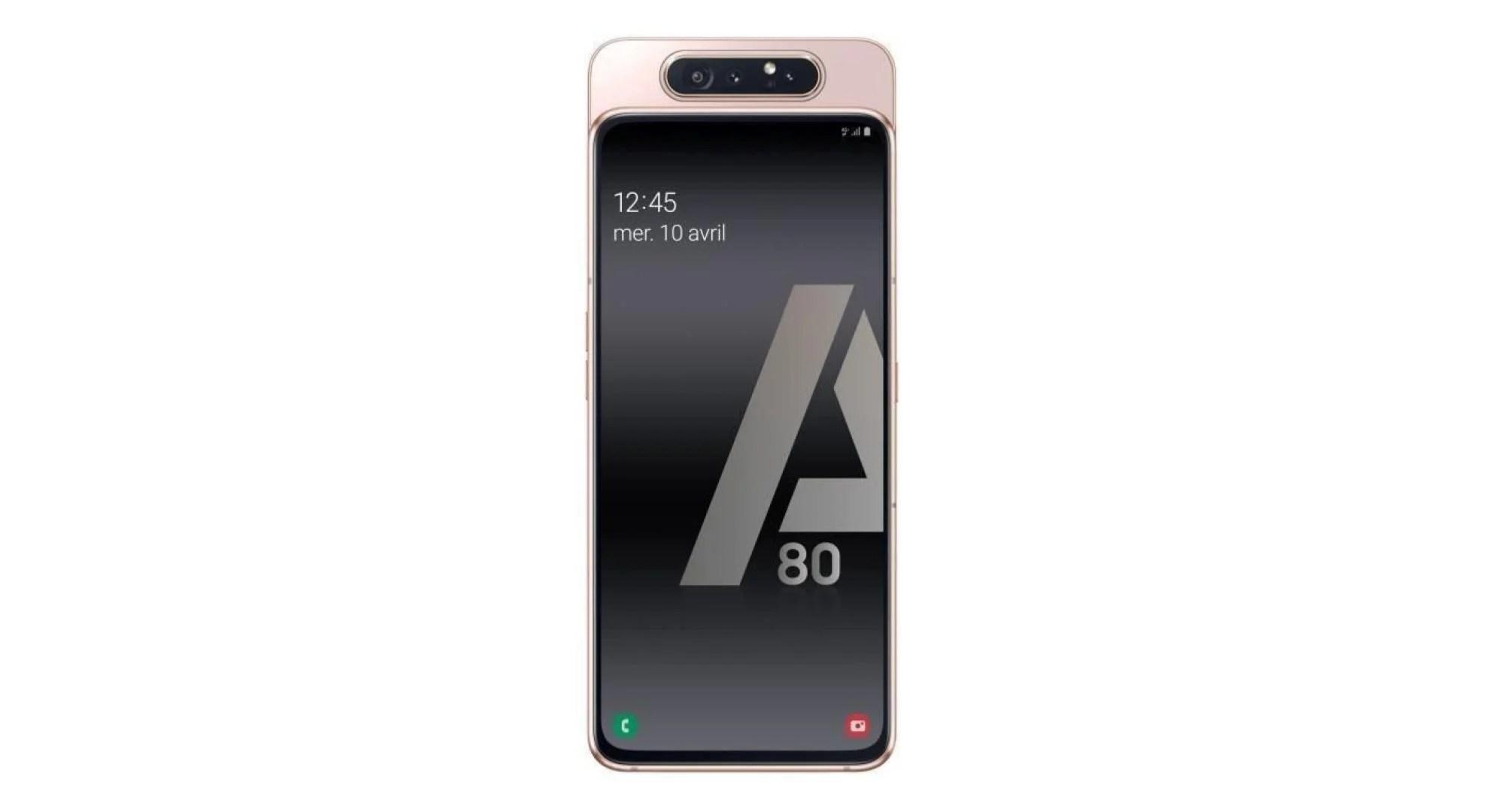 Baisse de prix : le Samsung Galaxy A80 est disponible à 516 euros sur Cdiscount