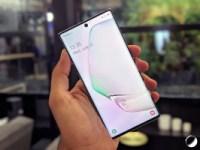 Prise en main du Samsung Galaxy Note 10 : un max de style(t) et des incertitudes