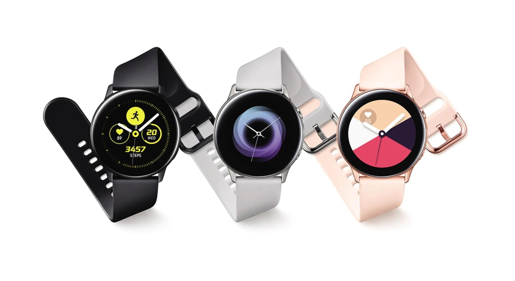 Économisez aujourd'hui plus de 100 euros sur la Samsung Galaxy Watch Active