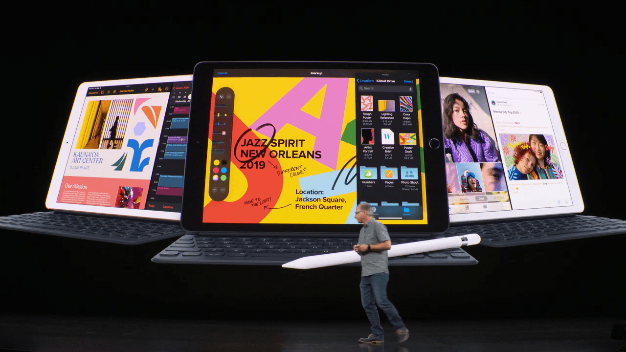 iPad Pro : Apple terminerait de copier la Surface Pro avec un clavier à touchpad