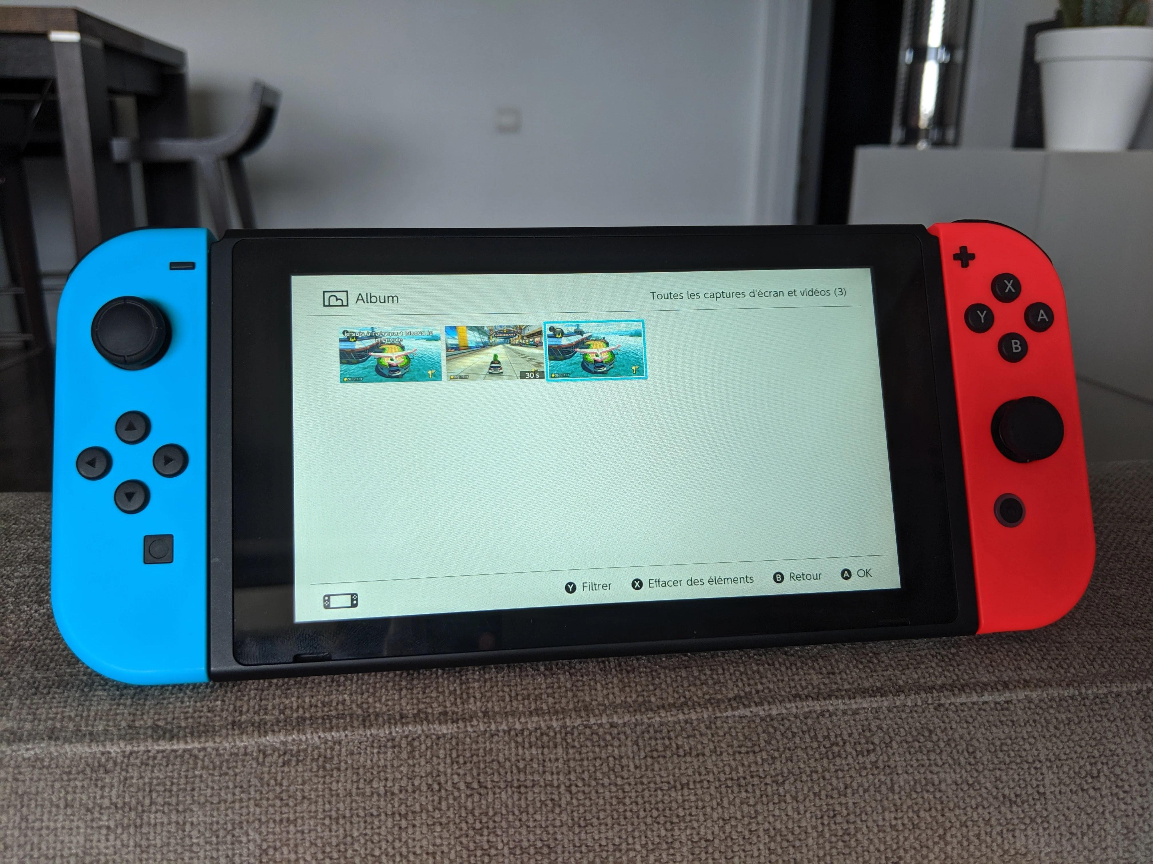 Nintendo Switch 11.0 : le partage de captures photos et vidéos devient bien plus simple