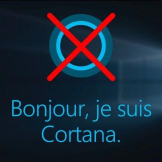 Windows 10 : comment désactiver Cortana