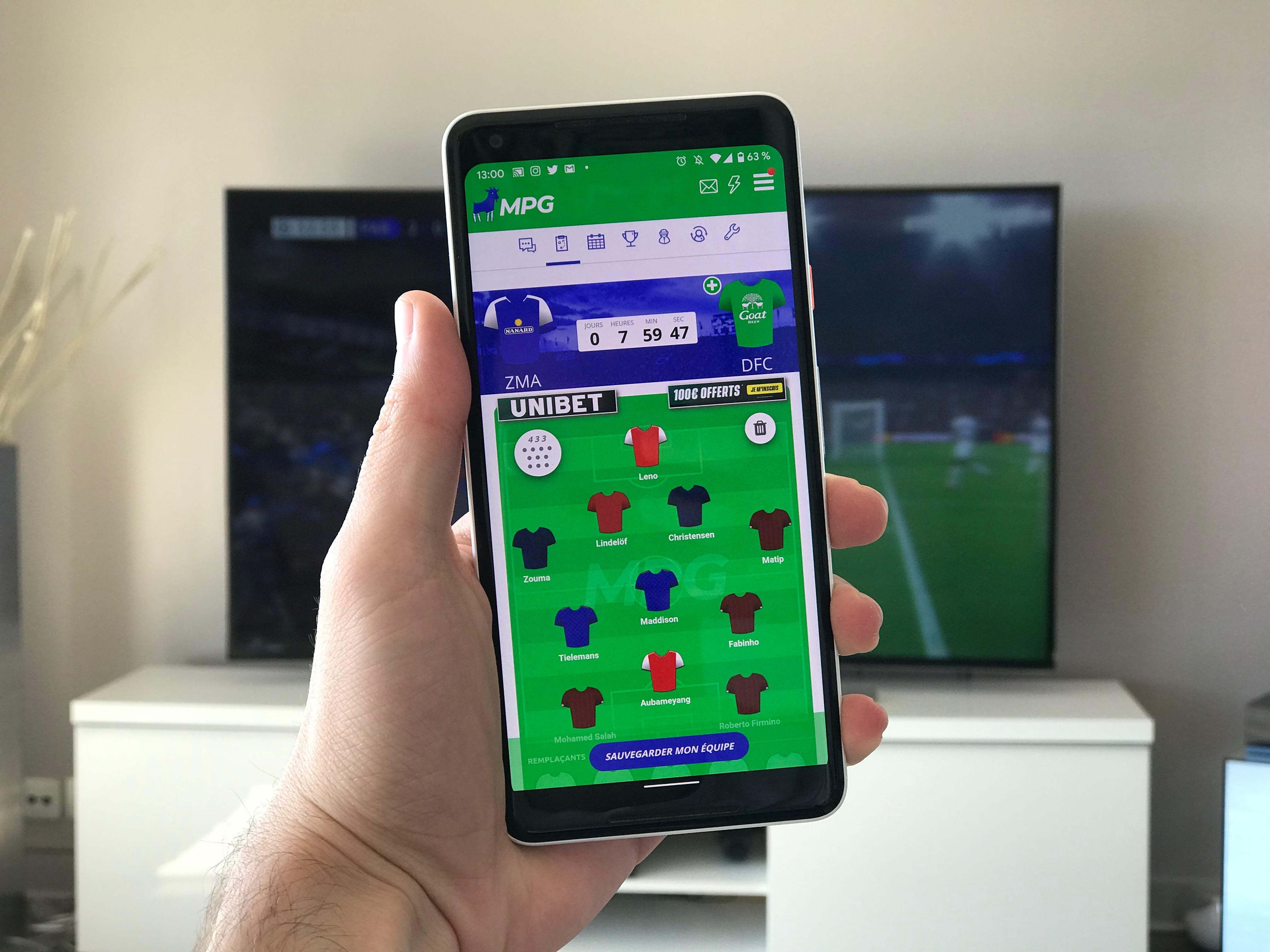 L'app de la semaine : je crée ma propre équipe de foot pour rendre chèvre mes amis