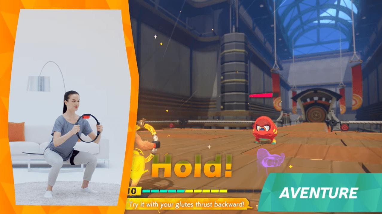 La Nintendo Switch devient votre coach sportif avec le Ring-Con et Ring Fit Adventure