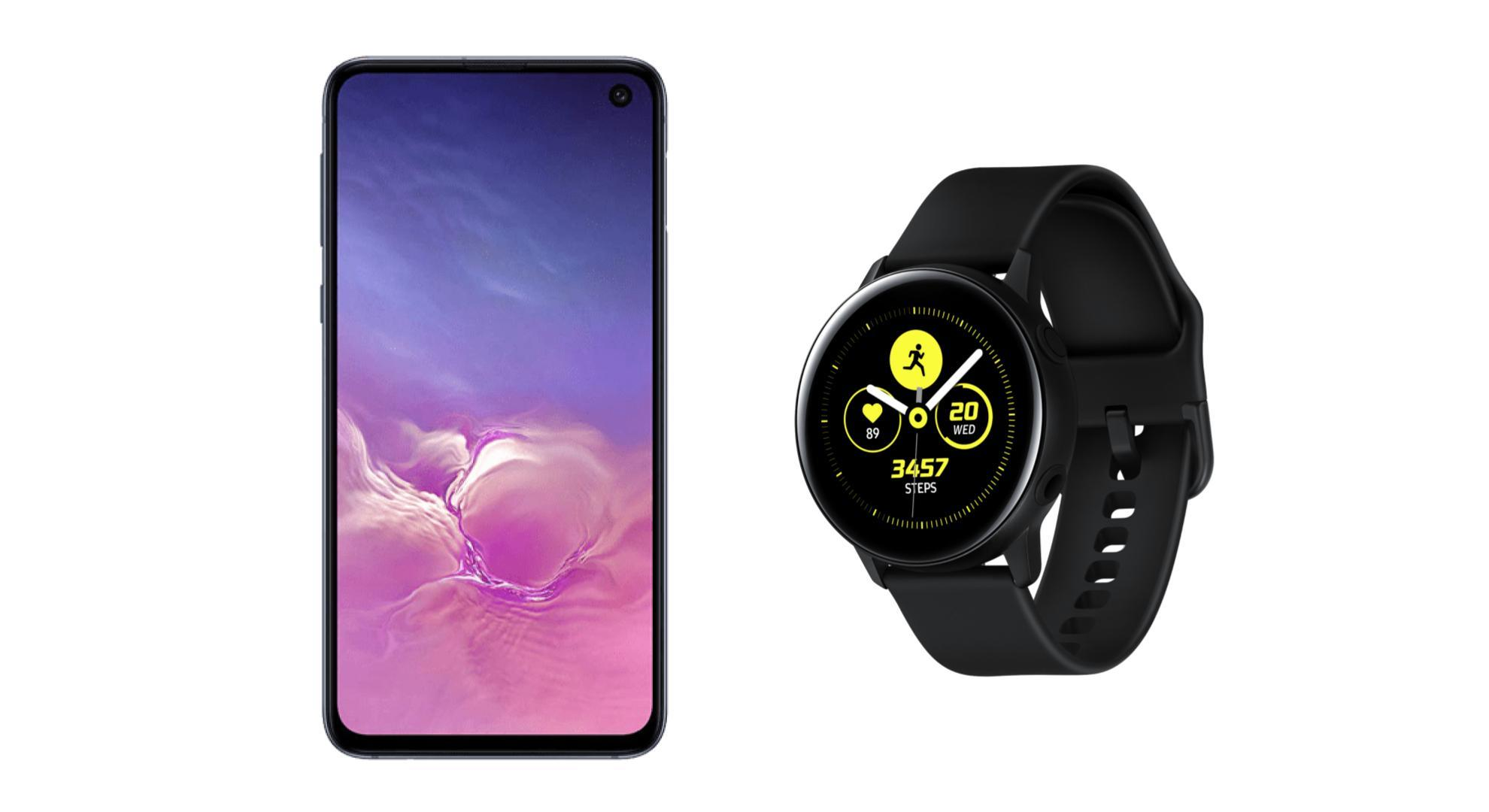 🔥 French Days 2019 : un pack Galaxy S10e + Galaxy Watch Active à 499 euros