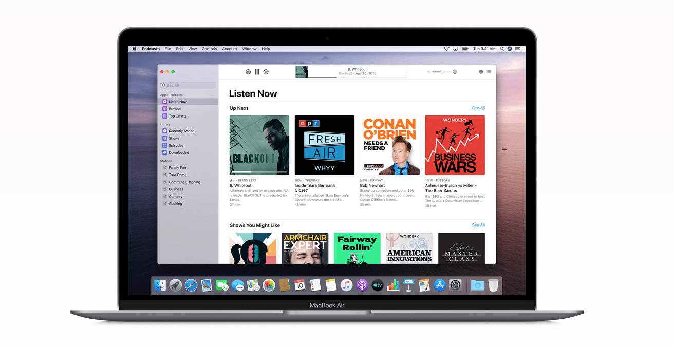 Apple Podcasts: les abonnements sont repoussés au mois de juin