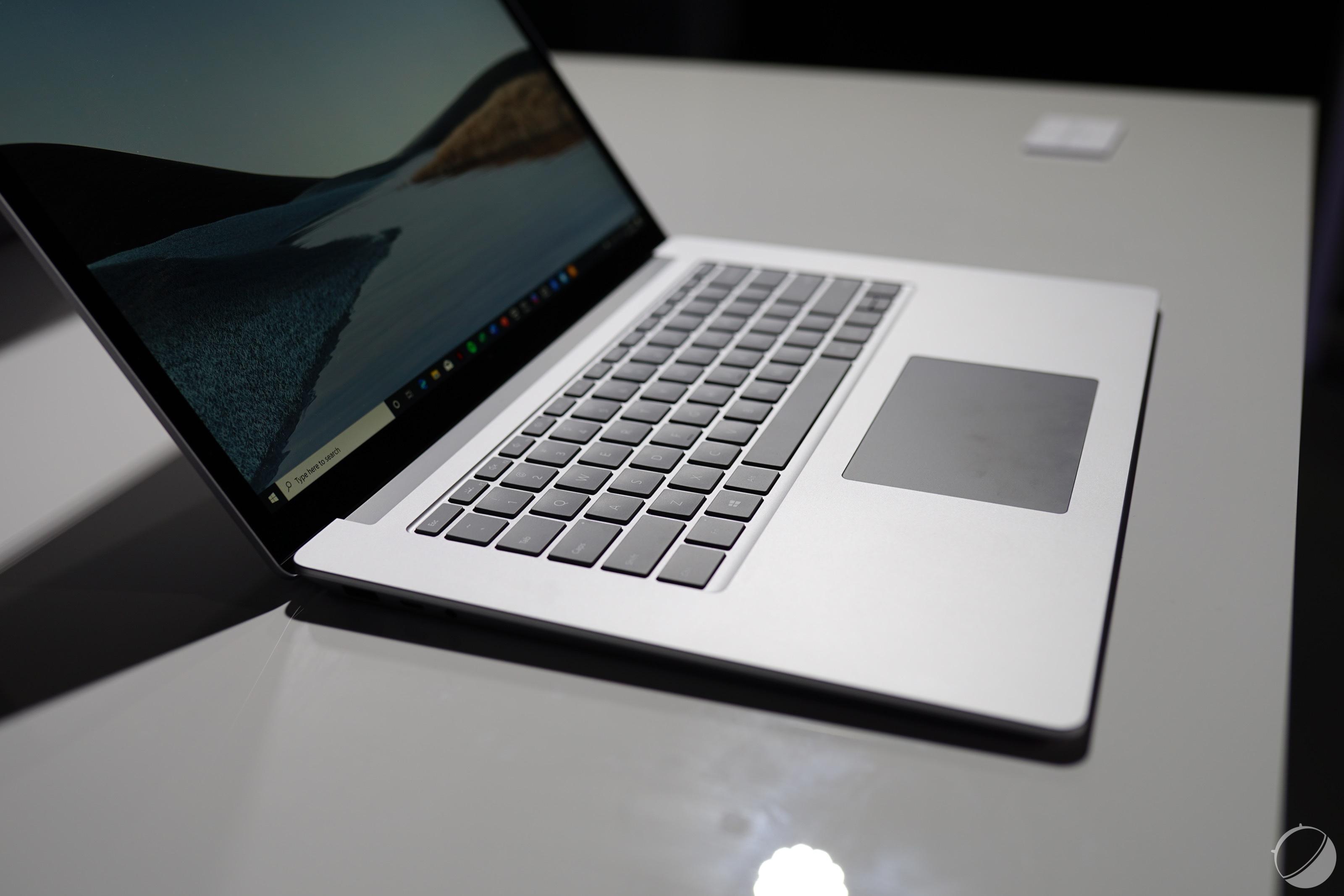 Microsoft veut booster l'autonomie des Surface Laptop 3 sous processeur AMD