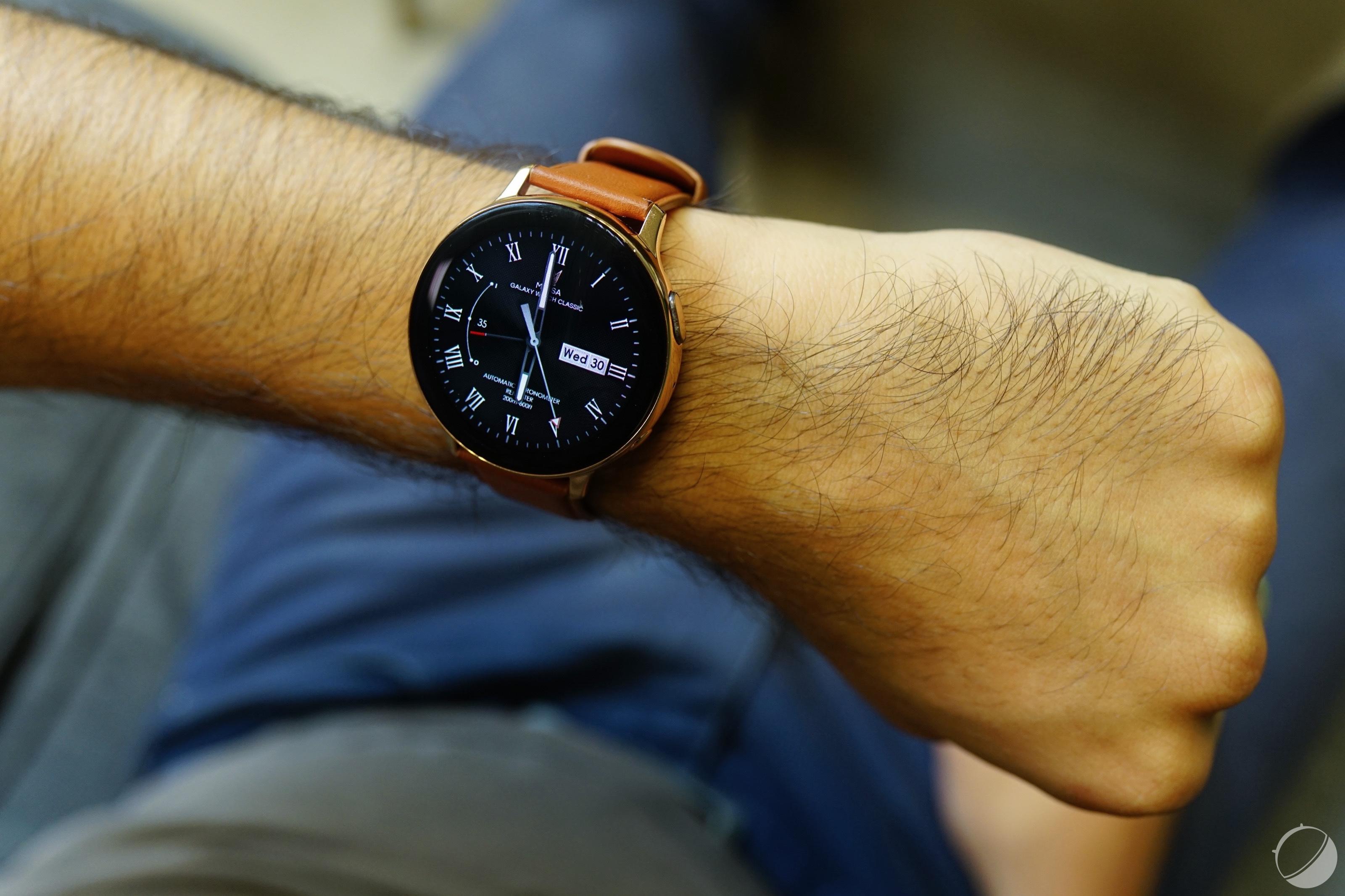 Samsung Galaxy Watch 3 : des photos dévoilent une refonte de Tizen OS