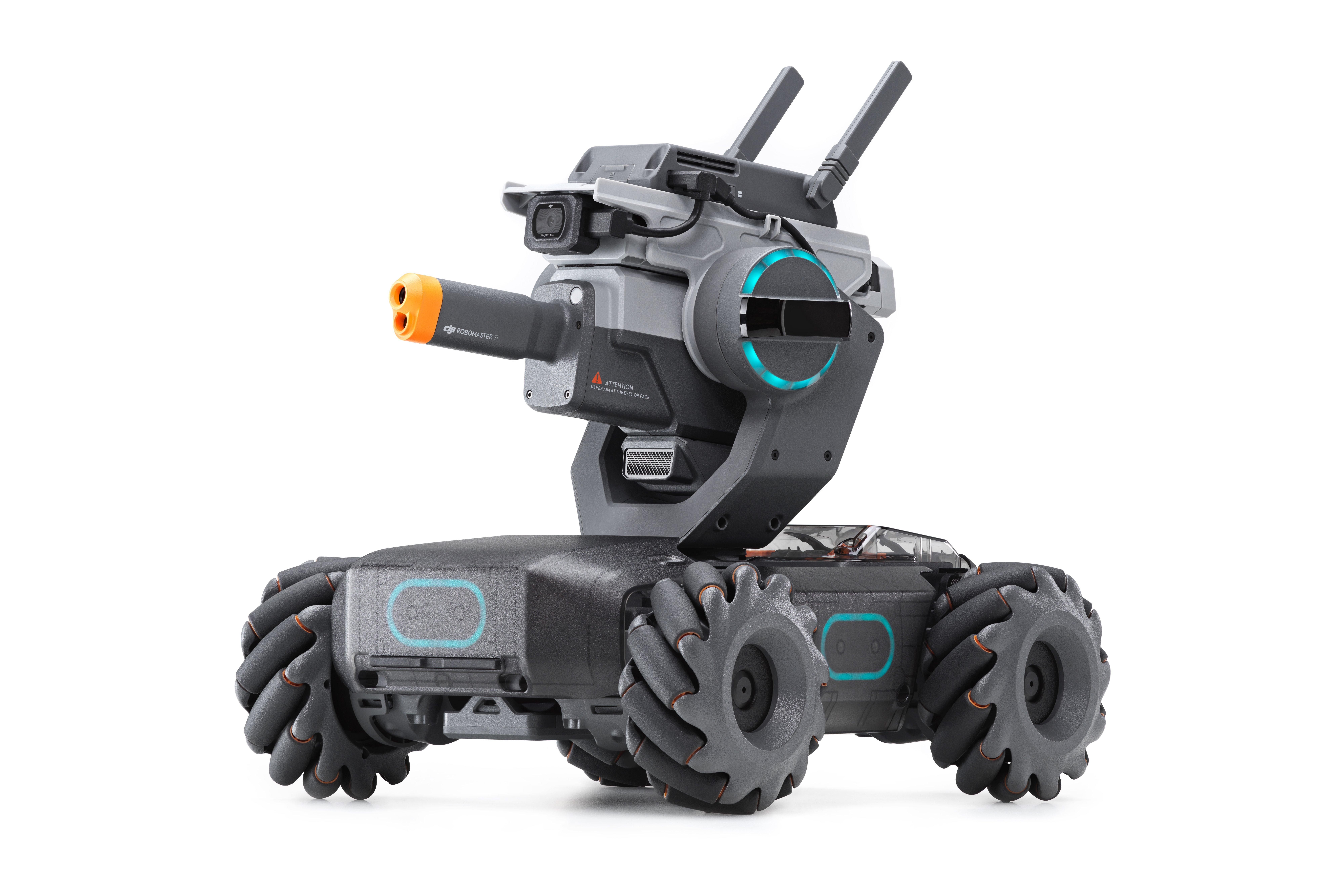DJI RoboMaster S1 : lancement en France et nouvelles fonctionnalités pour le robot éducatif