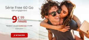 Forfait mobile : Free rajoute 1 euro à son forfait pour 10 Go supplémentaires
