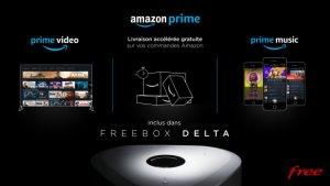 Freebox Delta : l'abonnement Amazon Prime est inclus avec tous ses bonus
