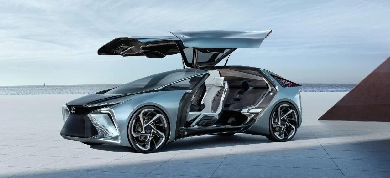 Électrique, futuriste, splendide : la Lexus LF-30 aux portes papillon sort de sa chrysalide