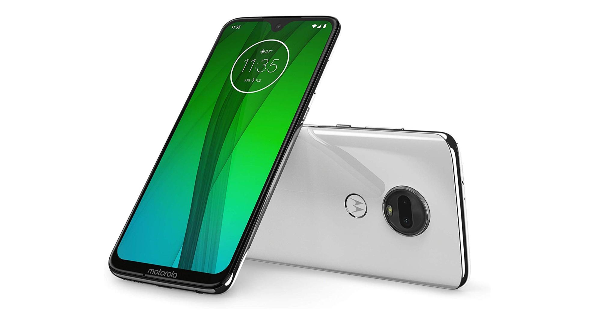 Le Motorola G7 est un bon premier smartphone, il est disponible avec une remise de 25%