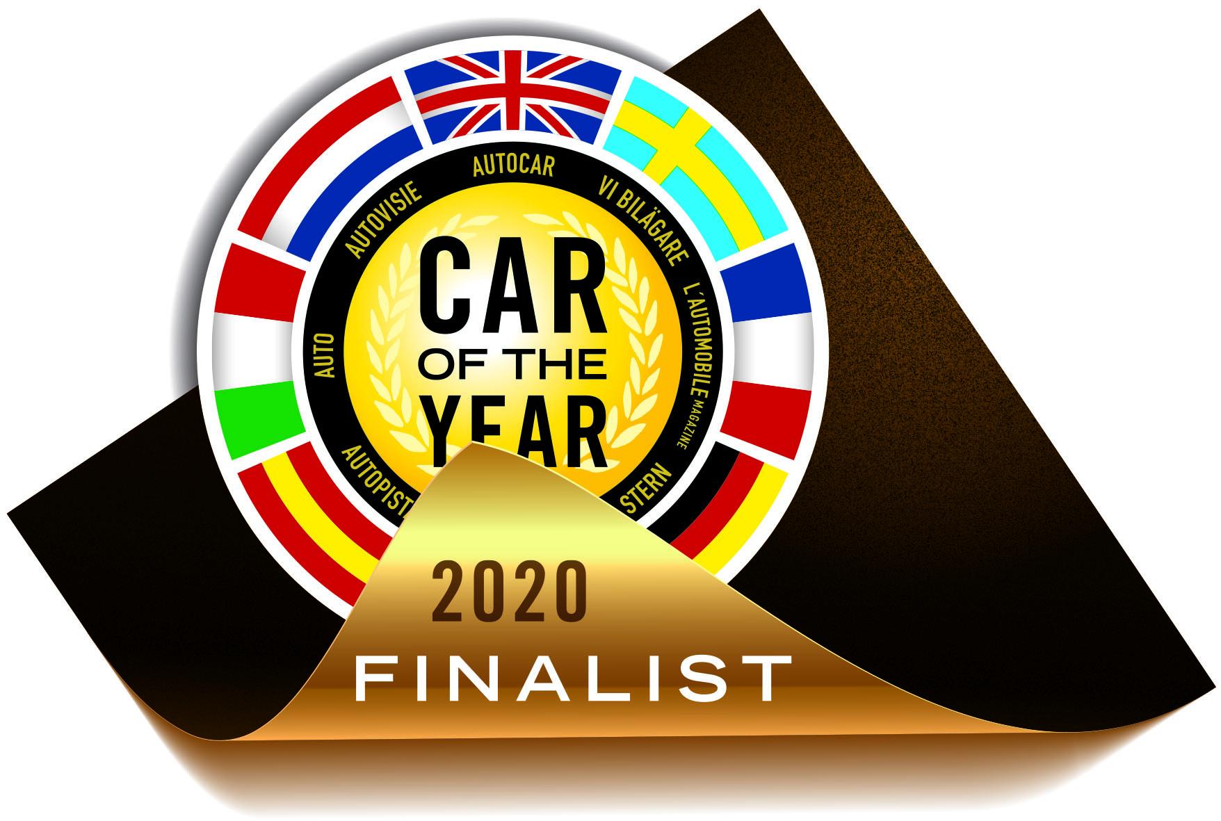 Car of the Year 2020 : deux électriques se glissent parmi les sept finalistes