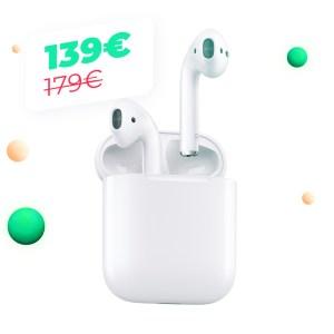 Les AirPods 2 à moins de 140 euros sur Cdiscount, le Cyber Monday a touché Apple