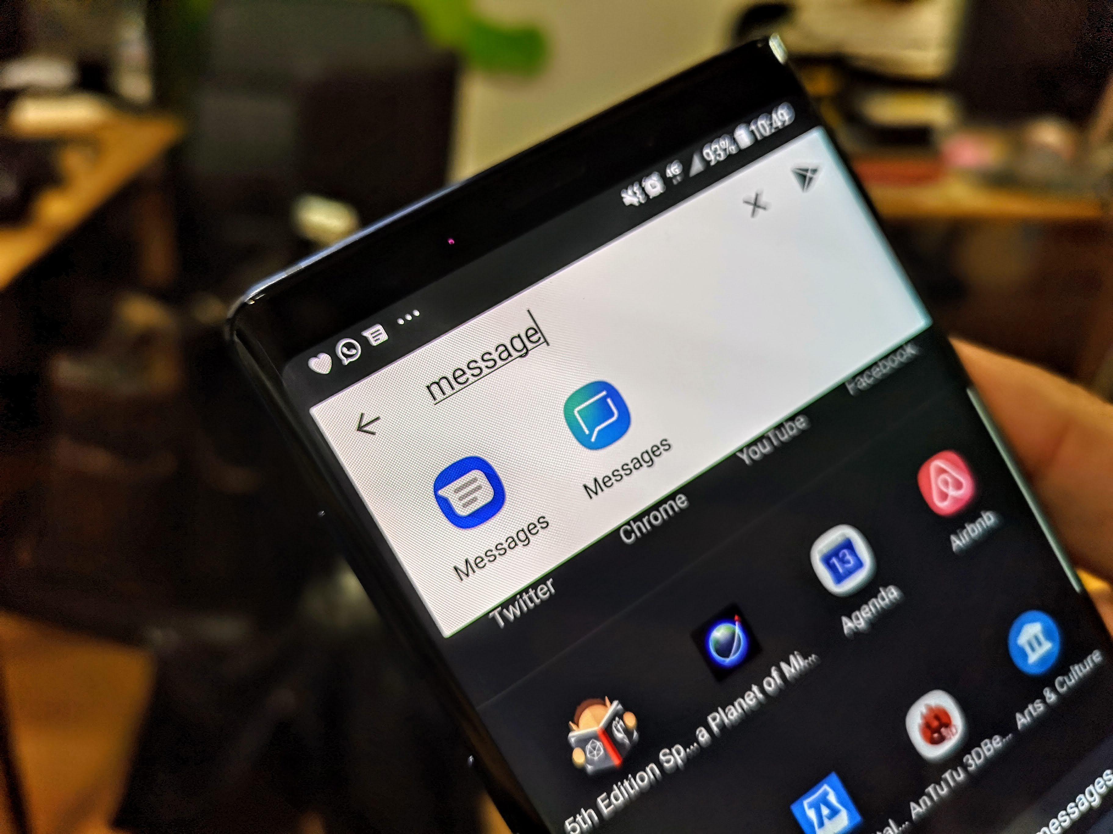 Même Windows 10 profite du RCS grâce à Samsung et à l'application Votre Téléphone