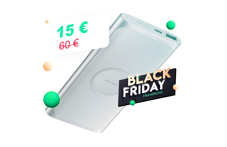 La batterie externe 10 000 mAh (sans fil) de Samsung passe à 15 € pour le Black Friday