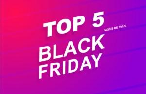 Black Friday : le TOP 5 des offres à moins de 100 euros avant l'événement