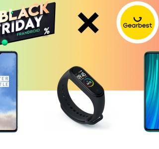 Le Redmi Note 8 Pro à 187 euros ou le OnePlus 7T à 417 euros : voici les bonnes affaires du Black Friday de Gearbest