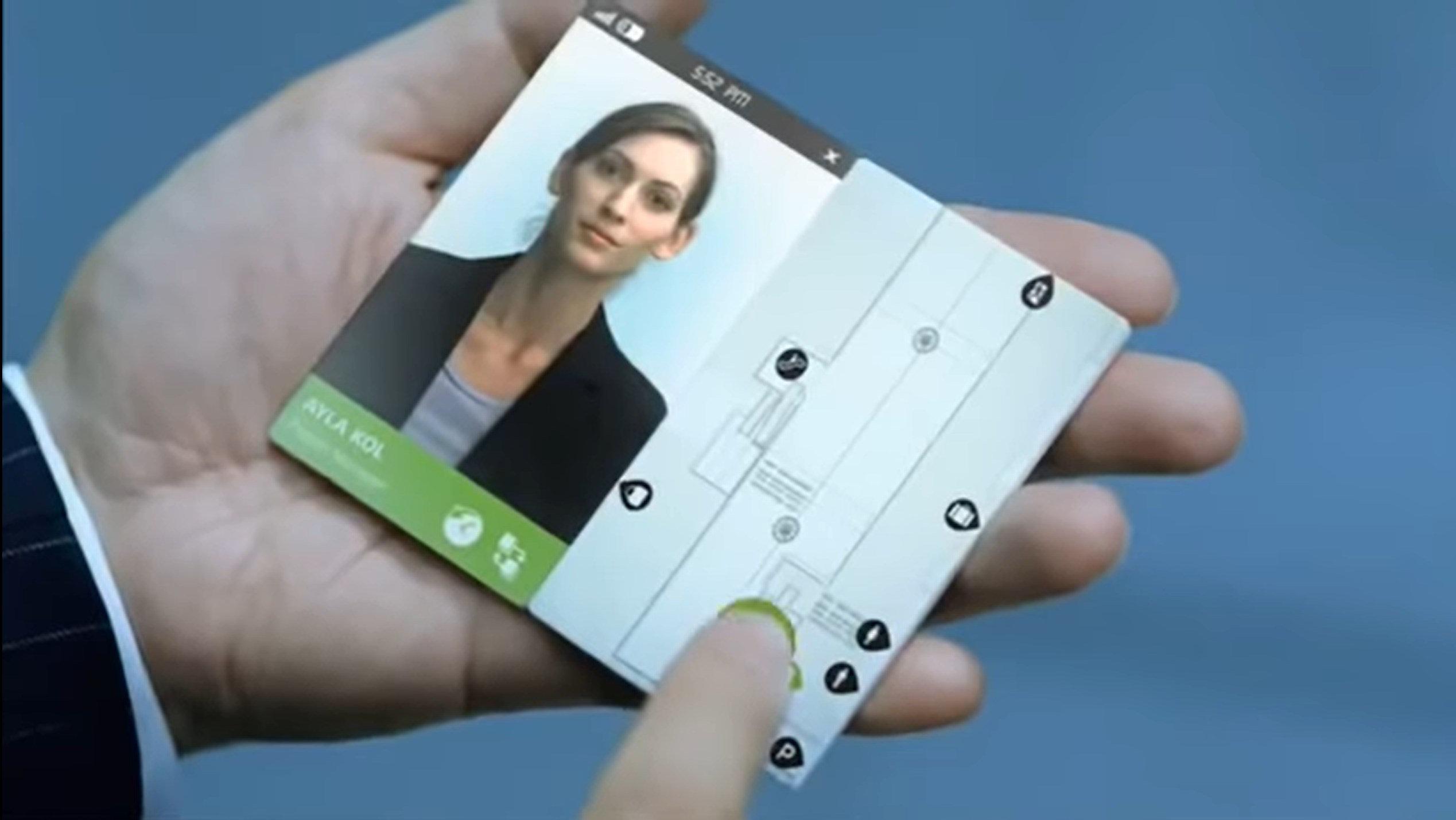 Papier tactile, smartphone défiant la physique… comment Microsoft imaginait 2019 en 2009
