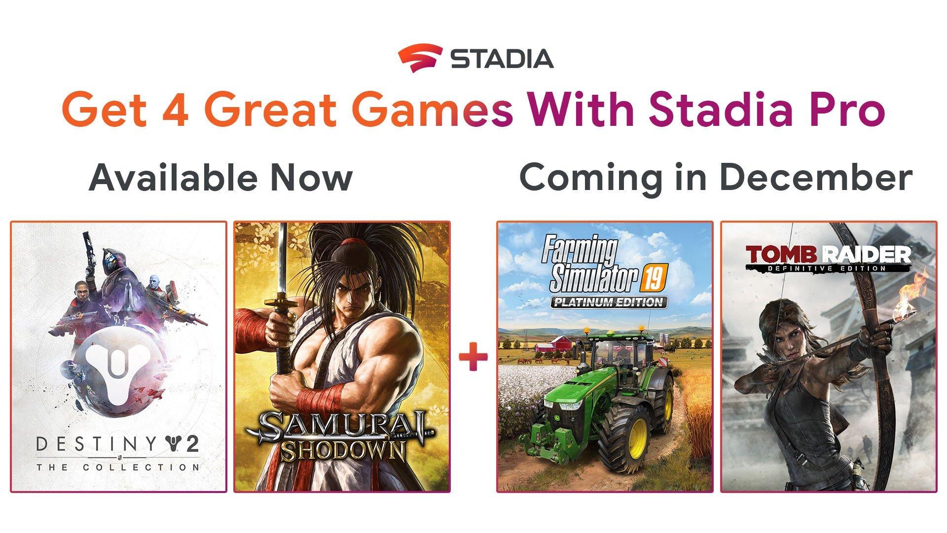 Google Stadia vous rembourse si vous avez acheté un jeu gratuit