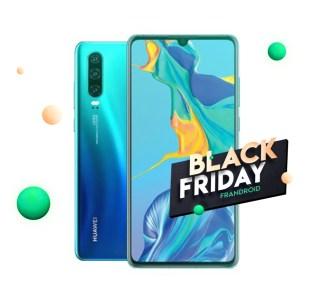 Toute la gamme HuaweiP30 en promotion pour le début de la Black Week