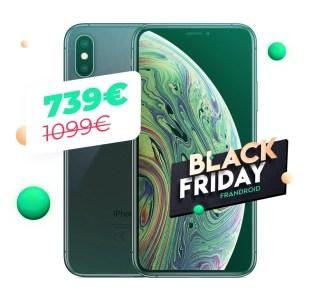L'iPhone XS à moins de 750 euros, le Black Friday est généreux