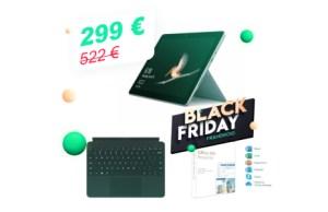 La tablette Microsoft Surface Go livrée avec son clavier passe à 299 € pour le Black Friday