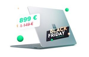 Économisez déjà 250€ sur le nouveau Microsoft Surface Laptop3 grâce au Black Friday