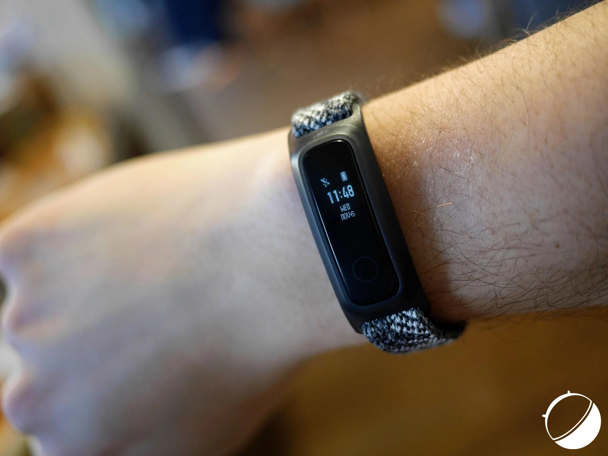 Honor Band 5 Sport : un bracelet connecté à 20 euros qui peut s'attacher au pied