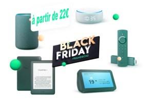 Grosse promotion sur les produits Amazon (Echo, Kindle et Fire) pour le Black Friday