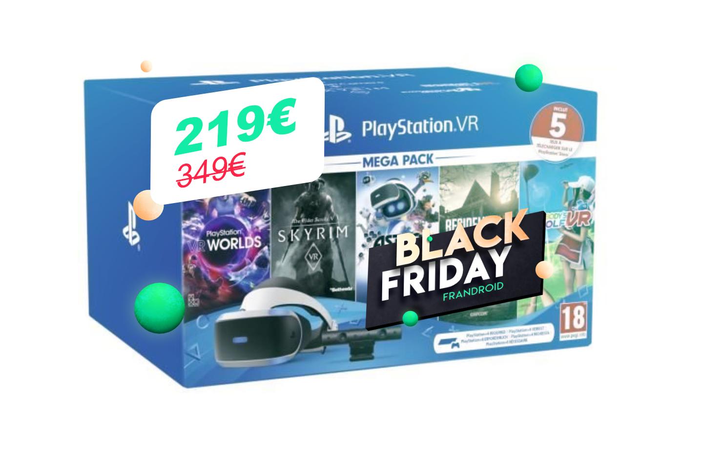 Si vous avez déjà une PS4, c'est le bon moment d'acheter un casque PS VR lors du Black Friday